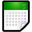 text-calendar